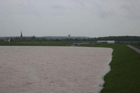 Hochwasser Rückhaltebecken Serbitz-Regis